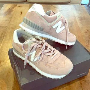 New Balance 574 Blush Shoes